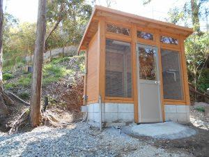 アヒル小屋